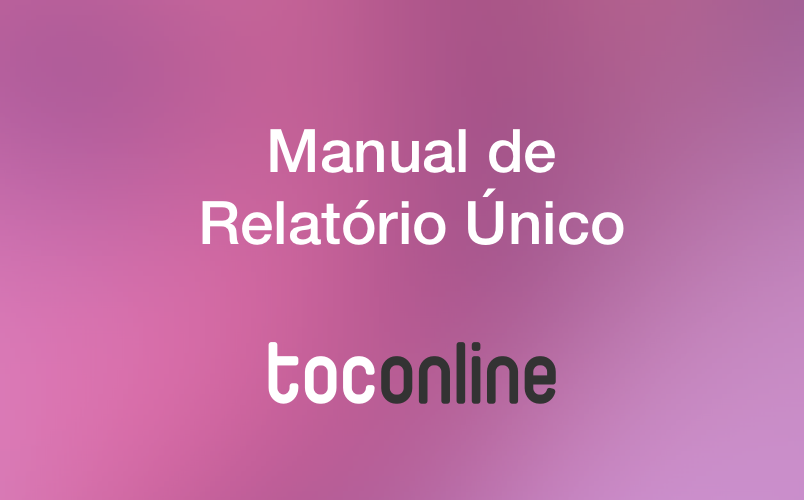 Manual relatorio unico