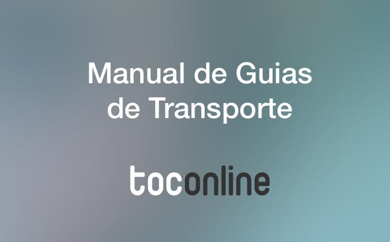 Manual guias de transporte