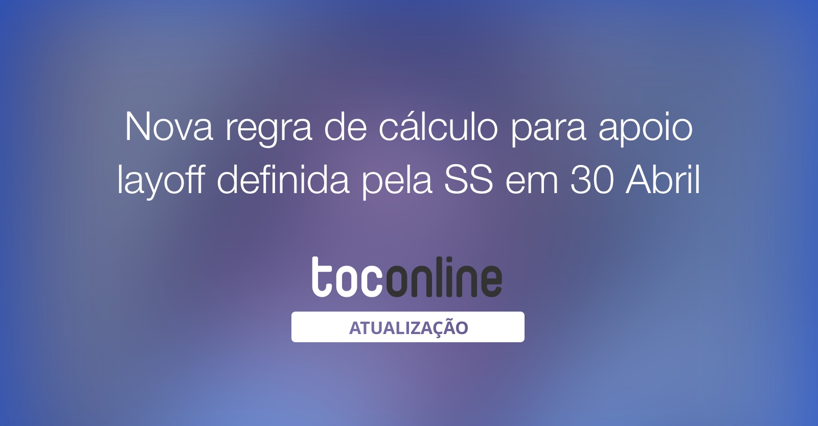 Nova regra calculo