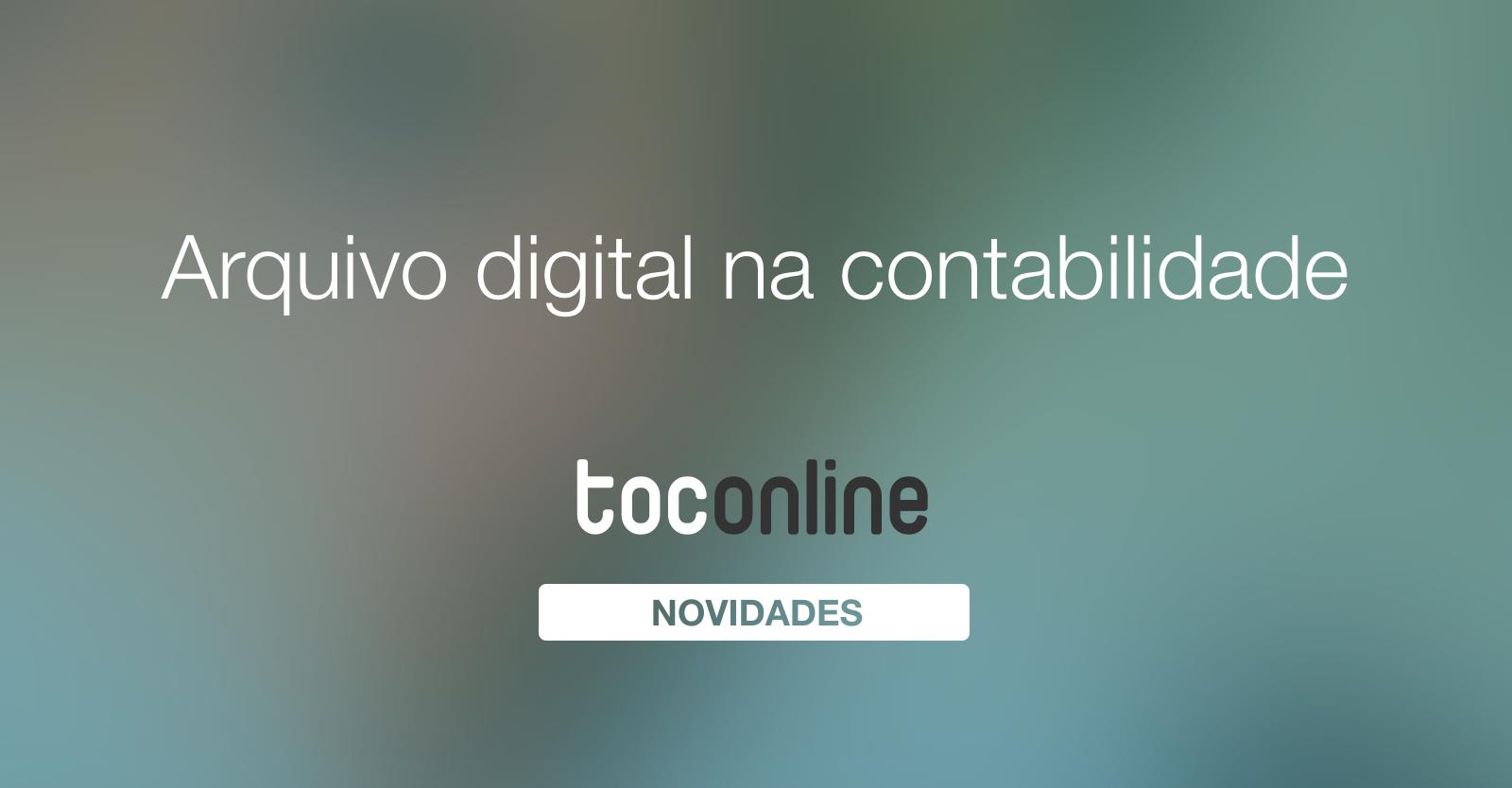 Arquivo digital contabilidade
