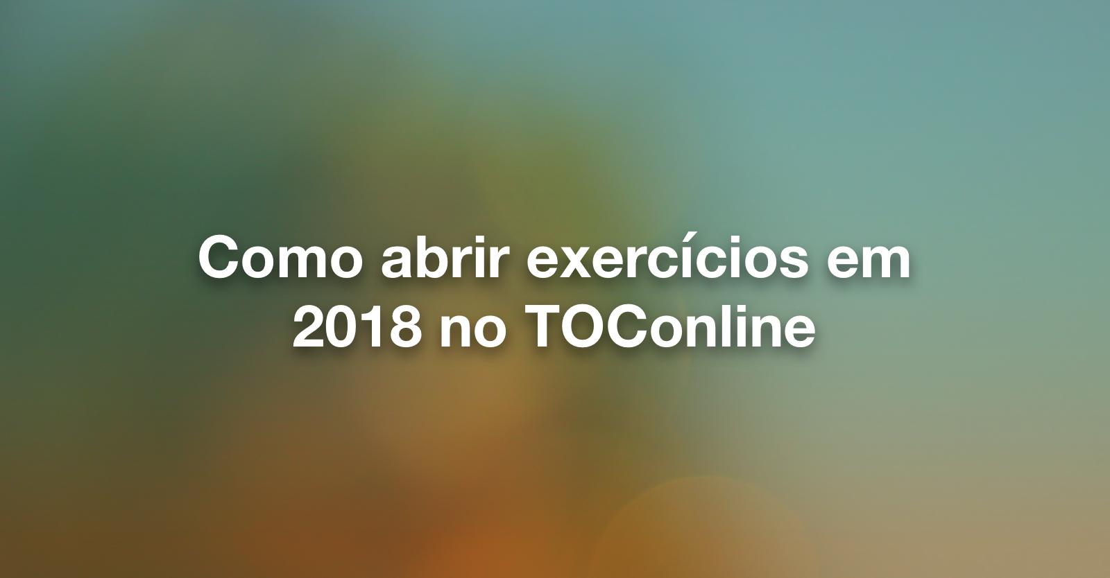 Post exercicios em 2018