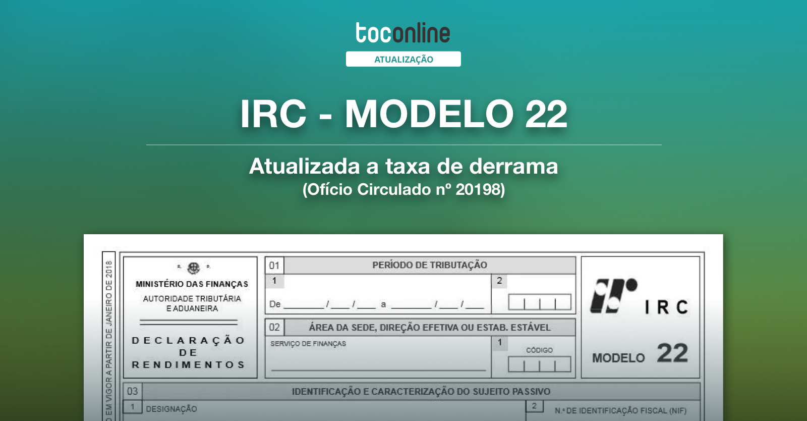 Post irc modelo22 derrama